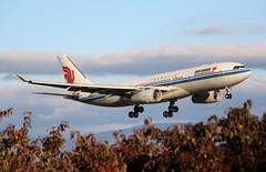 Air China CA861. B-6115. Airbus A330-243. (Themarcogoon49) Tags: airbus a330 landing gva airport cointrin lsgg avgeek switzerland planespotting