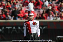 CMB at UofL vs. NC State - Photo Credit: UofL (MarchingCards) Tags: uofl universityoflouisville cmb cardinalmarchingband marchingcards cardinal marching band university louisville cards louisvillecardinals ul cardinals marchingband music photo photos college football tuba trumpet drum horn clarinet flute cardinalband uofl cardinal foodball brass drums bugle mellophone acc