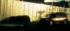 NY Streetscapes 726 (stevensiegel260) Tags: street sun sunset twilight reflection car wall newyork thebronx