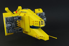 Renault Hirondelle (09) (F@bz) Tags: starfighter spaceship lego sf space moc scifi renault