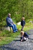 Grandpa And The Kids At Storm King (Joe Shlabotnik) Tags: everett violet may2016 2016 verne stormking afsdxvrnikkor55300mm4556ged