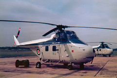Photo of XP328 Westland Whirlwind HAR10 cn WA348 Royal Air Force RAF Northolt 20Apr78