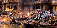Cremation's (Rami Khanna-Prade) Tags: colorofindia tripadvisor travelphotography kashi benares citiesoftheworld varanasi inde india river ghats ghat banaras manikarnikaghat