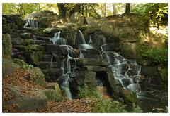 0043 Waterfall,02,8x5 (mikeinfleet) Tags: virginiawater surrey waterfall falls water