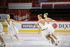 20161106_Aapo_Rainio_3738 (Aapo Rainio Digitals) Tags: synchronized skating helsingin jhalli rockettes unique marigold ice unity revolutions