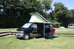 The Van (lazy south's travels) Tags: oxford oxfordshire england britain uk van mazda bongo camp site campsite campong holiday tour tourist tourism summer sunny hot