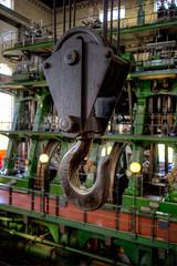 Working Hook (95wombat) Tags: massive ginormous huge big aboveaverage steam water engine pump museum london england hdr hook crane kemptonpark
