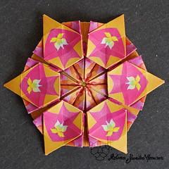 Iimori Astra I (Day 34) (Yureiko) Tags: yureiko tessellation papierfalten papier origami paperfolding paper