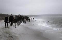 beachwalk (hansekiki ) Tags: dars ostsee prerow beach strand icm intentionalcameramovement mehrfachbelichtung multipleexposure canon 5dmarkiii