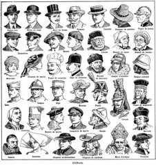 Anglų lietuvių žodynas. Žodis coiffures reiškia kostiumai lietuviškai.