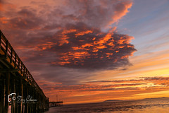 Ventura Pier Sunset (#Sunset Hunter#) Tags: landscape pier visualart ventura ocean shore seascape
