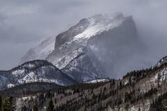 Storms of Winter (rwbaldwin) Tags: colorado rockymountains rockymountainnationalpark hiking snowshoeing landscapes rwbaldwin hallettpeak glaciergorge winter winterstorm bierstadtmoraine