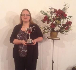 2012: Vicky Mace, Best Instrumentalist Prize