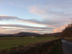 Pink clouds again (goforchris) Tags: winter ardyne lowsun sky sunset cowal argyll scotland