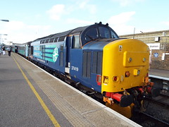 37419 at gt yarmouth (47604) Tags: class37 37419 drs gt great yarmouth