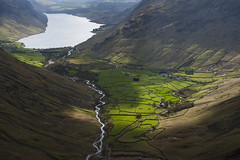 Wast Water and Wasdale Head (Nick Landells) Tags: lakedistrict cumbria fields drystonewall drystonewalls wastwater wasdale wasdalehead