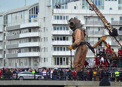 Watch That Car (Stephen Whittaker) Tags: dog girl liverpool giant spectacular de nikon little uncle central royal diver odyssey titanic luxe littlegirlgiant royaldeluxecentral seaodyssey d5100 whitto27