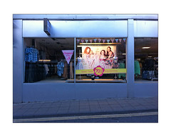 017210412 (oscar paisley) Tags: window fashion shop retail easter advertising display dresses yellowlines roadmarking payment 70off northshields
