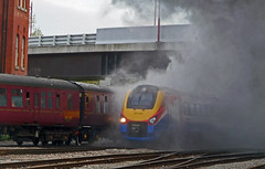 Through The Steam (barry 13092) Tags: steam derby meridian duchessofsutherland 46233 222005 theyorkshirecoronation