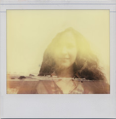 Rocky (daveotuttle) Tags: oregon doubleexposure whitney spectra haystackrock impossibleproject pz680