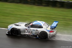 The dominant Ecurie Ecosse BMW Z4 at a wet Oulton Park (Tim R-T-C) Tags: race cheshire racing bmw z4 gt motorracing motorsport autosport carracing bmwz4 oultonpark gtracing britishgt gtcar ecurieecosse oliverbryant alasdairmccaig