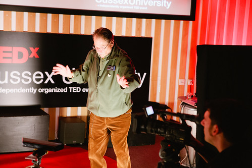 Rolf Gehlhaar performing at TEDxSussexUniversity 2012