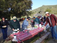 bfast buffet (maureenld) Tags: camping friends breakfast fun 40th bash may db annual pinnacles 2012 pinnaclesnationalmonument bethereorbesquare desertbash btobs