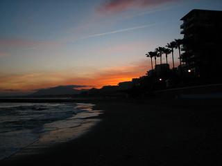 Another Sunsetting in Marbella......Otra puesta de sol en Marbella