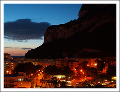 Gibraltar Sunrise (Ben.Allison36) Tags: ocean street building rock sunrise village fort olympus lane empire british gibraltar queensway overseas territory rockofgibraltar e450