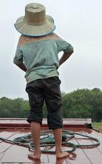 Keeping a Lookout (Peter Ashton aka peamasher) Tags: people children cambodia child siemreap tonlesap