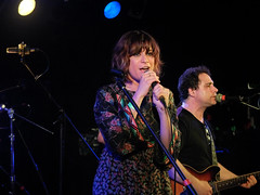 Nicole Atkins singing with Dead On live (Chris Kelly Images) Tags: park stone dead live asburypark pony shore jersey asbury jerseyshore on the thestonepony deadonlive