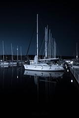 Miss Poppy (Bela Simo) Tags: she sea boat sailing nightshot ngc sail