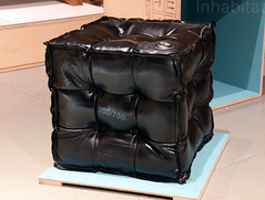 Fabrica-recycled-rubber-ottoman (Inhabitat) Tags: sustainabledesign greendesign greenfurniture newyorkdesignweek ecoproducts greeninteriors energyefficientlights wanteddesign nydw newyorkdesignweek2013 wanteddesign2013 mikewanted2013