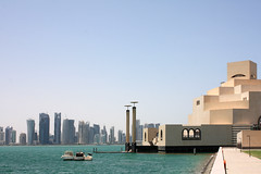 MIA and Doha West Bay (nordic nomad) Tags: architecture im mia pei doha qatar