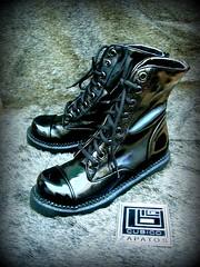 Borcegos negro charol3 (CUBICO zapatos) Tags: zapatos cubico