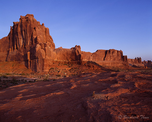 First light at Arches National Park 3