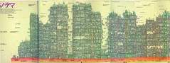 kowloon-walled-city-map (duncanbowers) Tags: city kowloon walled