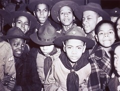 a030374 Boy Scouts Minority (Children's Bureau Centennial) Tags: chicago hats boyscouts 1940s africanamerican uniforms 1942 historyofmedicine minorites nationallibraryofmedicine africanamericanchildren childrensbureau troop446