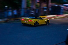 Chevrolet Corvette in Drag Racing at night (Oleksii Leonov) Tags: ukraine kyiv  dragracing a700   chaiky sonyalphadslr   700 dslra700