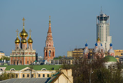 Roofs and domes of Moscow (Osdu) Tags: travel church russia moscow roofs domes