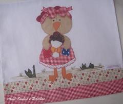 COLEO MESTRE CUCA 2013 (*Sonhos e Retalhos Ateli*) Tags: galinha patchwork animais decorao cozinha tecido bordado costura patchcolagem panodeprato apliqu