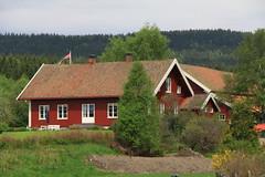 IMG_5525 Traditional wooden farm house, Maridalen, Oslo (boaski) Tags: travel tourism oslo norway landscape skandinavien norwegen tourist nordic scandinavia landschaft reise norvege maridalen noorwegen norwegia nordisch