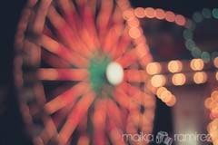 . (maika.) Tags: ocean vacation sky clouds canon photography lights myrtlebeach pretty bokeh ferriswheel cloudporn rebelt3i