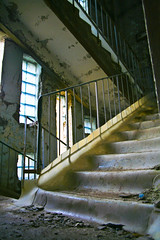 Chernobyl staircase (MoraTilTordis) Tags: radiation ukraine staircase disaster second chernobyl pripyat