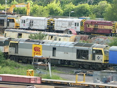60090 at Toton TMD / Yard 08/06/2013 (37686) Tags: brush class tug 60 toton