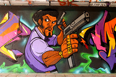 Nasty (Frankhuizen Photography) Tags: street art netherlands festival graffiti eindhoven arena step nasty 2013