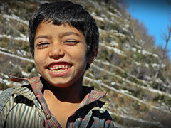 himachali (Sougata2013) Tags: winter portrait people baby india cold cute smile trekking kid emotion january expressions smiley laugh himalaya mandi himachalpradesh baggi himachali prashar prasharlake himachalikid