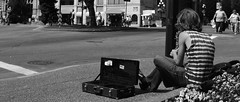 The Downtown Busker (MarkValdez) Tags: nikon downtown columbia victoria british busker saxophone d5100