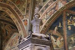 412. Siena Cathedral Baptistry. Siena, Italy. 09-Aug-13 (paulfuller128) Tags: italy holiday rome roma florence scenery italia vespa roman tuscany firenze siena cortona ilrondo