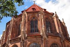 the choir of St. Lorenz church seen from outside (BZK2011) Tags: nuremberg nürnberg stlorenz
